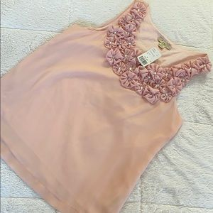 NWT Soft Pink Sleeveless Forever 21 Blouse